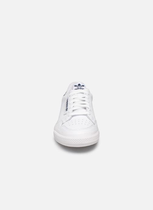 Baskets adidas originals Continental Vulc Blanc vue portées chaussures