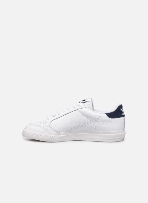 Sneaker adidas originals Continental Vulc weiß ansicht von vorne