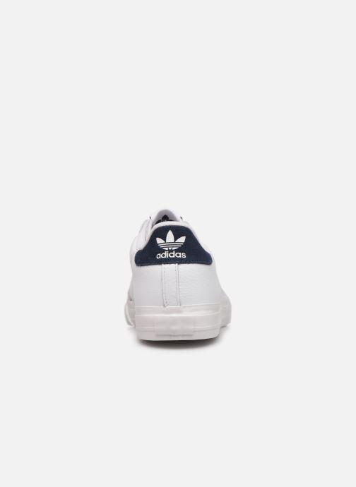 Sneaker adidas originals Continental Vulc weiß ansicht von rechts