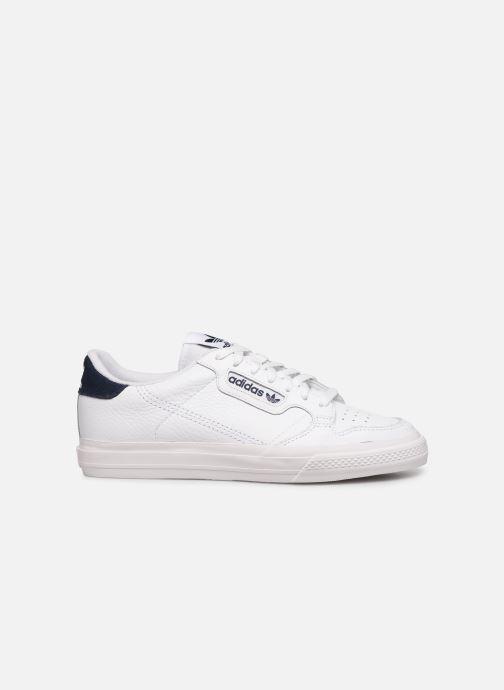 Sneaker adidas originals Continental Vulc weiß ansicht von hinten