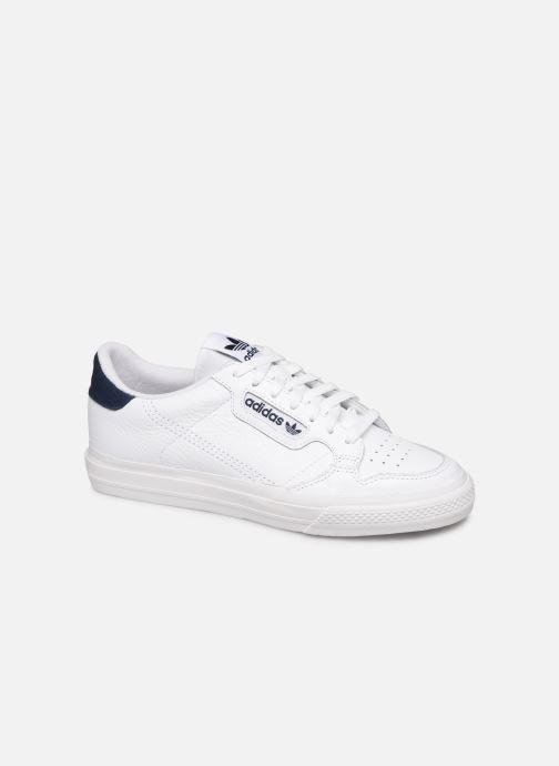 Baskets adidas originals Continental Vulc Blanc vue détail/paire