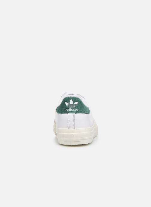 Baskets adidas originals Continental Vulc Blanc vue droite