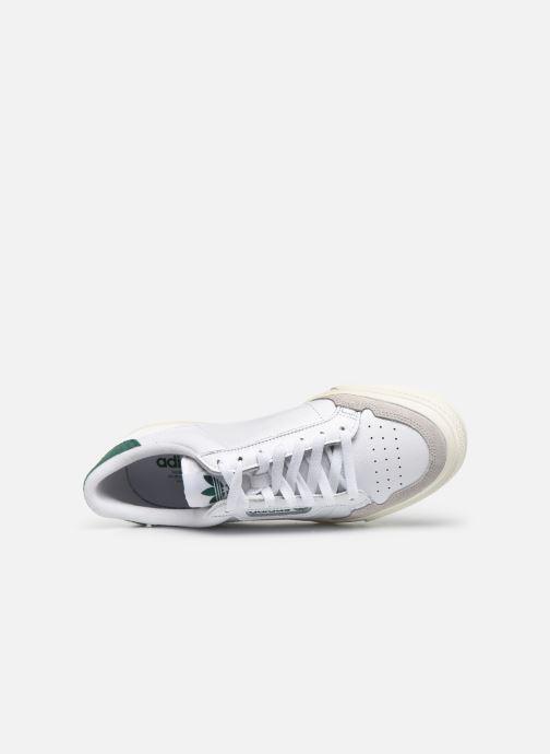 Baskets adidas originals Continental Vulc Blanc vue gauche