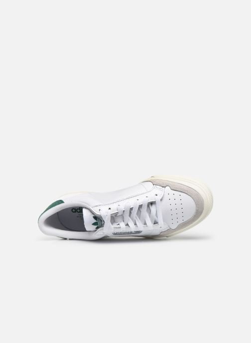 Baskets adidas originals Continental Vulc Blanc vue gauche