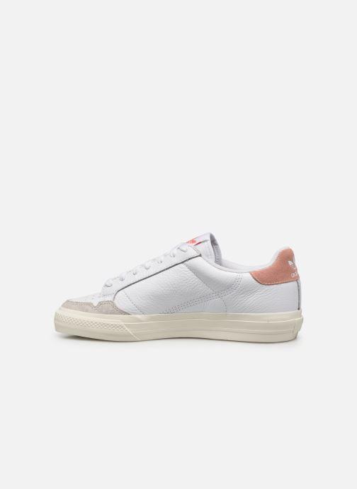 Sneakers adidas originals Continental Vulc Wit voorkant