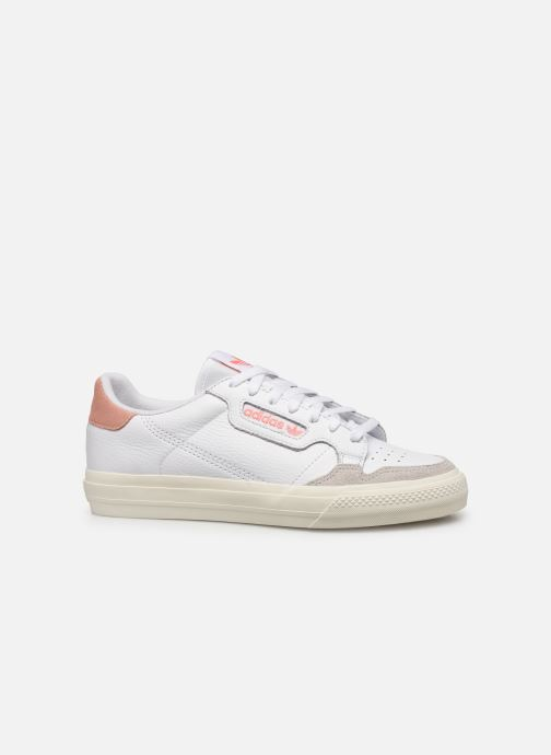 Sneakers adidas originals Continental Vulc Wit achterkant