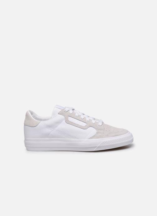 Baskets adidas originals Continental Vulc Blanc vue derrière