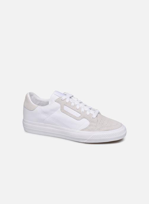 Sneaker adidas originals Continental Vulc weiß detaillierte ansicht/modell