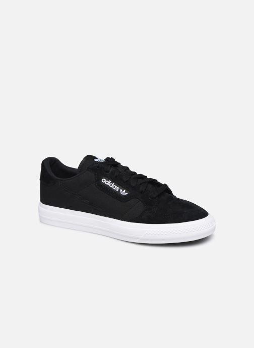 Baskets adidas originals Continental Vulc Noir vue détail/paire