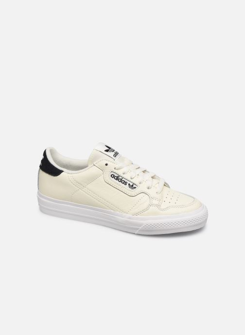 Baskets adidas originals Continental Vulc Blanc vue détail/paire