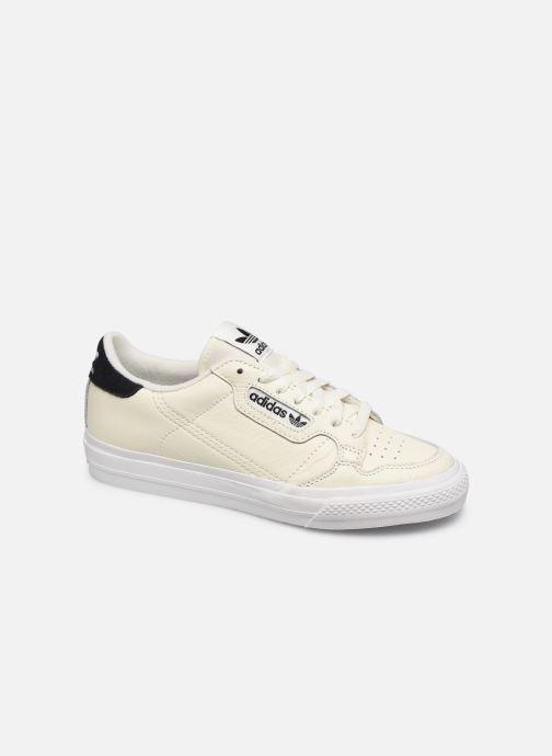 Deportivas adidas originals Continental Vulc Blanco vista de detalle / par