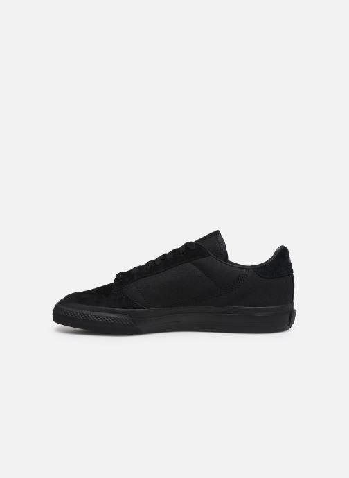 Sneaker adidas originals Continental Vulc schwarz ansicht von vorne