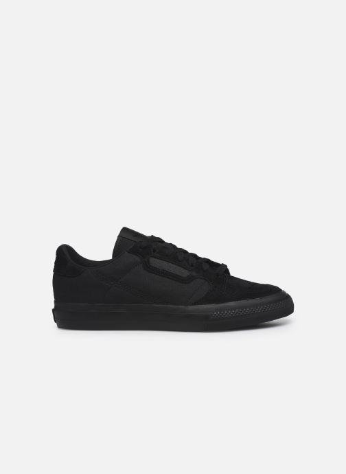 Sneaker adidas originals Continental Vulc schwarz ansicht von hinten