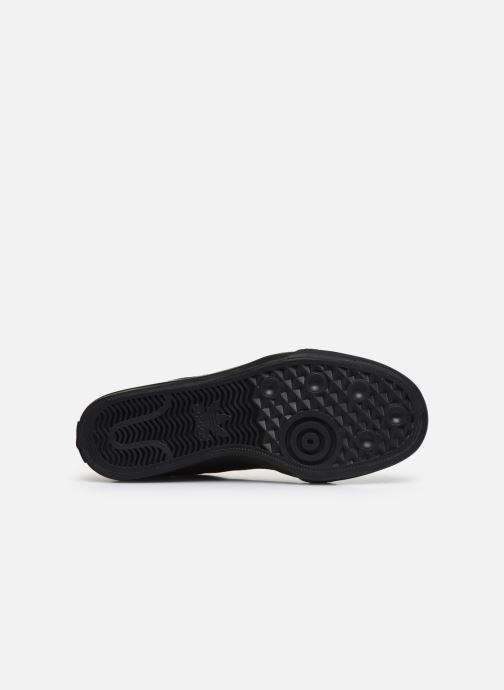 Sneaker adidas originals Continental Vulc schwarz ansicht von oben