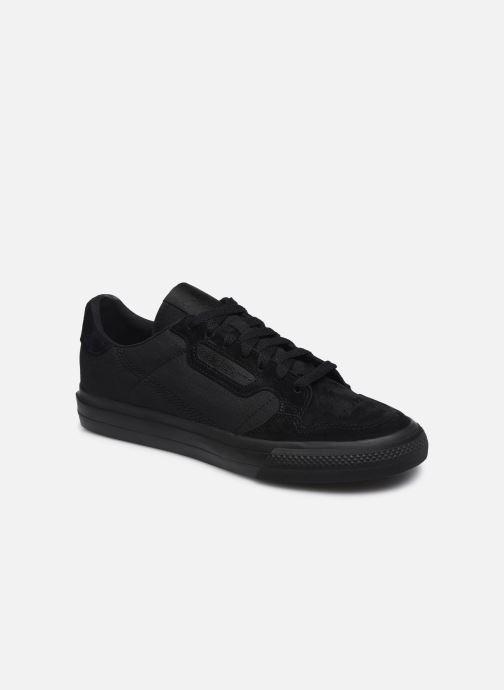 Sneaker adidas originals Continental Vulc schwarz detaillierte ansicht/modell