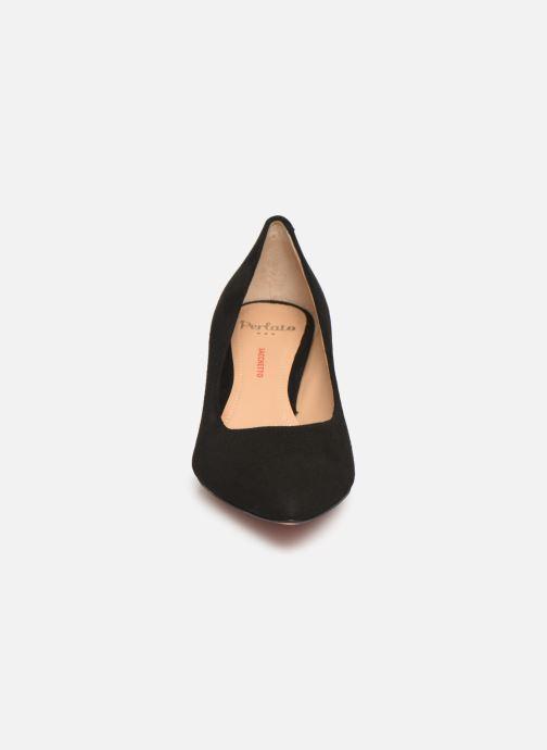 Zapatos de tacón Perlato 10970 Negro vista del modelo