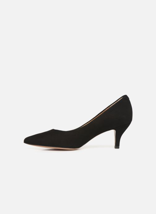 Zapatos de tacón Perlato 10970 Negro vista de frente