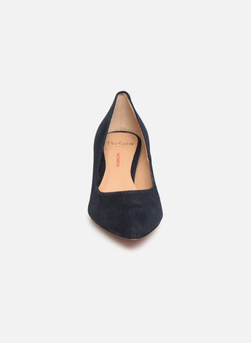 Escarpins Perlato 10970 Bleu vue portées chaussures