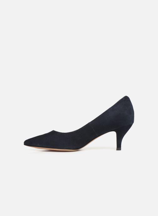 High heels Perlato 10970 Blue front view