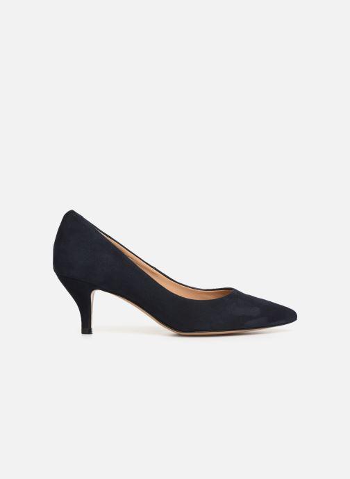 High heels Perlato 10970 Blue back view