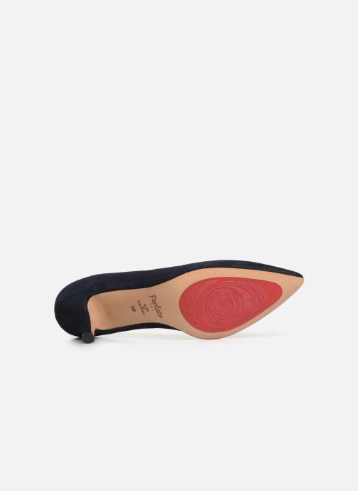 Zapatos de tacón Perlato 10970 Azul vista de arriba