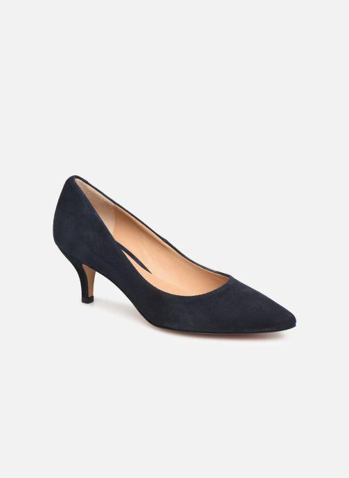 High heels Perlato 10970 Blue detailed view/ Pair view