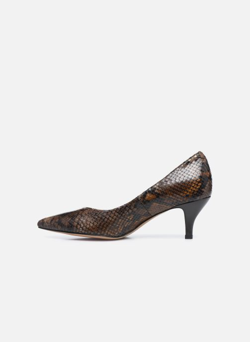 Zapatos de tacón Perlato 10970 Marrón vista de frente