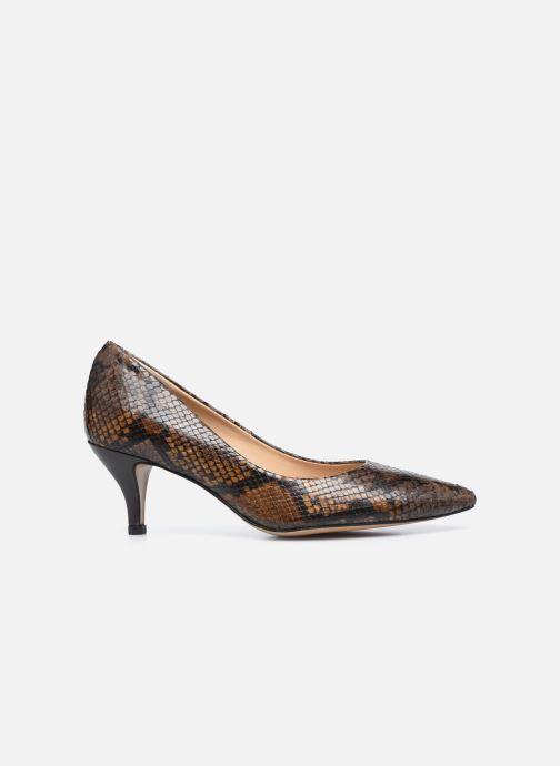 Zapatos de tacón Perlato 10970 Marrón vistra trasera