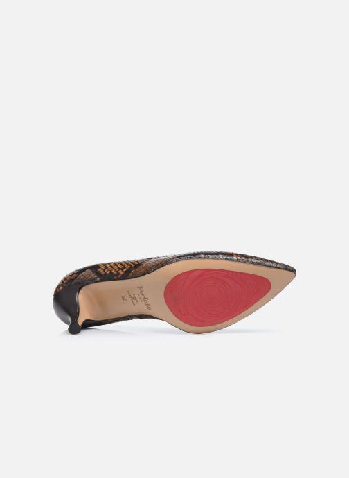 Zapatos de tacón Perlato 10970 Marrón vista de arriba