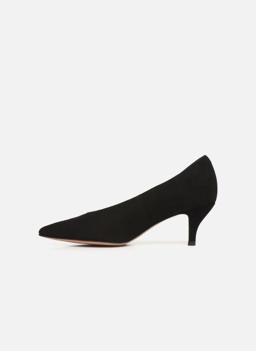 High heels Perlato 10973 Black front view