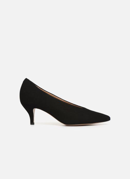 High heels Perlato 10973 Black back view