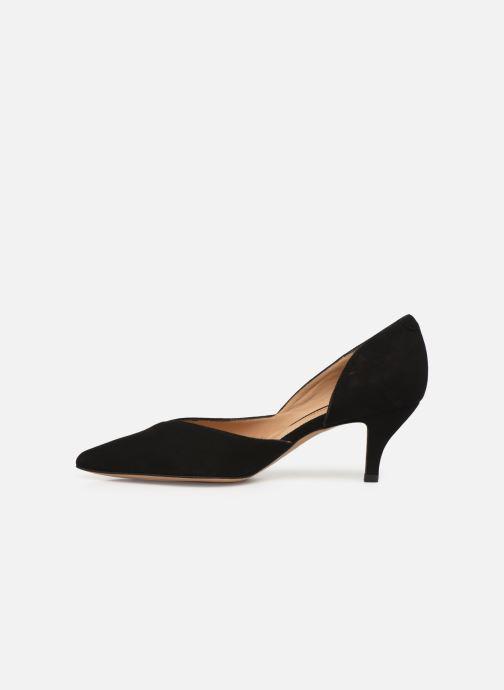 High heels Perlato 11313 Black front view