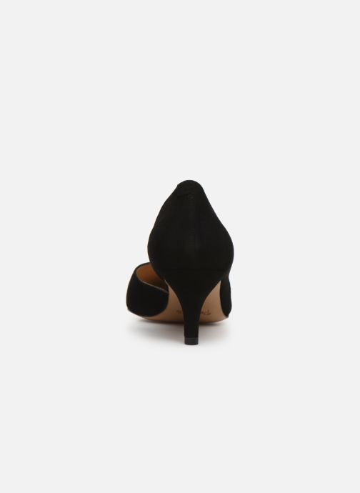High heels Perlato 11313 Black view from the right