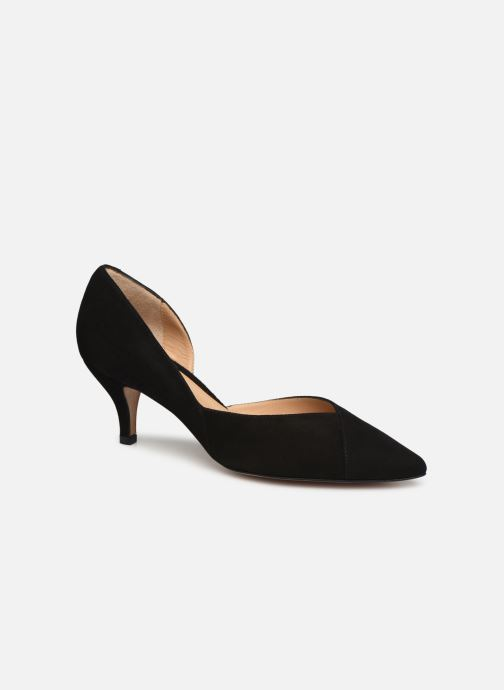 High heels Perlato 11313 Black detailed view/ Pair view