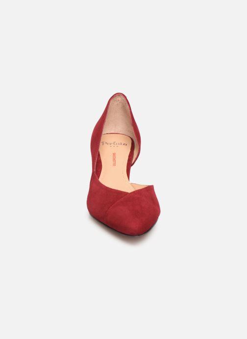 Escarpins Perlato 11313 Bordeaux vue portées chaussures