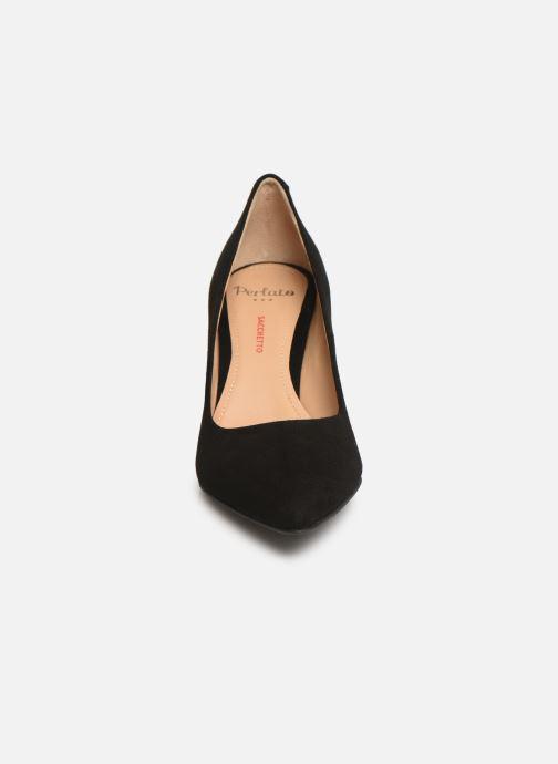 Escarpins Perlato 11008 Noir vue portées chaussures