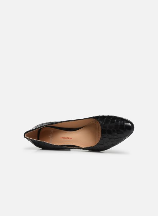 High heels Perlato 11309 Black view from the left
