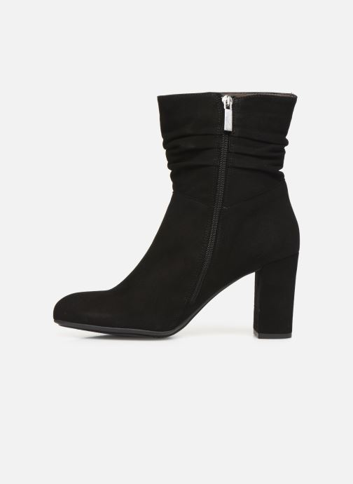 Ankle boots Perlato 11265 Black front view