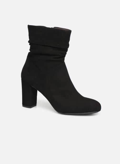 Ankle boots Perlato 11265 Black detailed view/ Pair view
