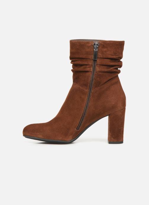 Bottines et boots Perlato 11265 Marron vue face
