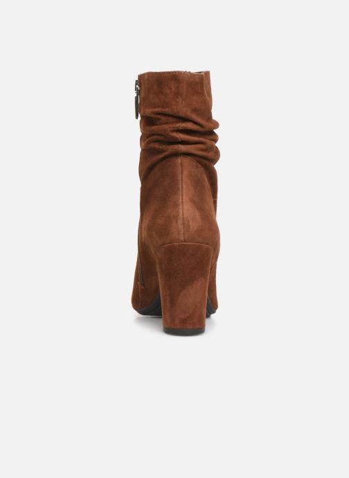 Bottines et boots Perlato 11265 Marron vue droite