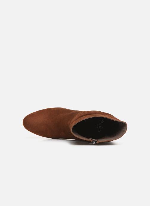 Bottines et boots Perlato 11265 Marron vue gauche