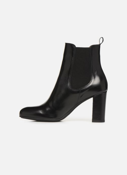 Ankle boots Perlato 11266 Black front view