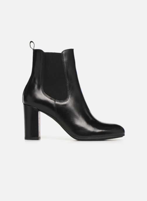 Ankle boots Perlato 11266 Black back view