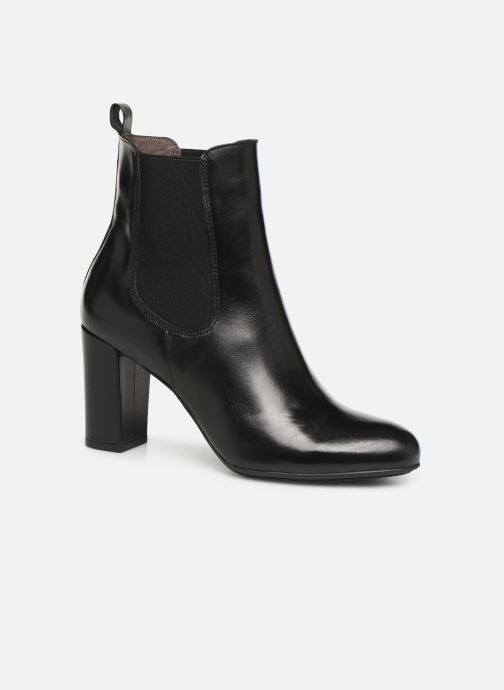 Ankle boots Perlato 11266 Black detailed view/ Pair view