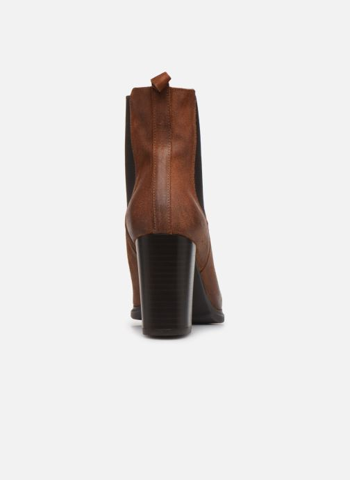 Ankle boots Perlato 11273 Brown view from the right