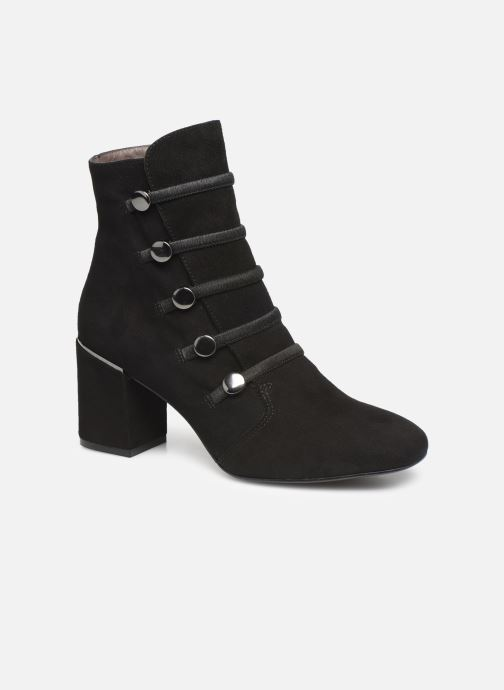 Ankle boots Perlato 11294 Black detailed view/ Pair view