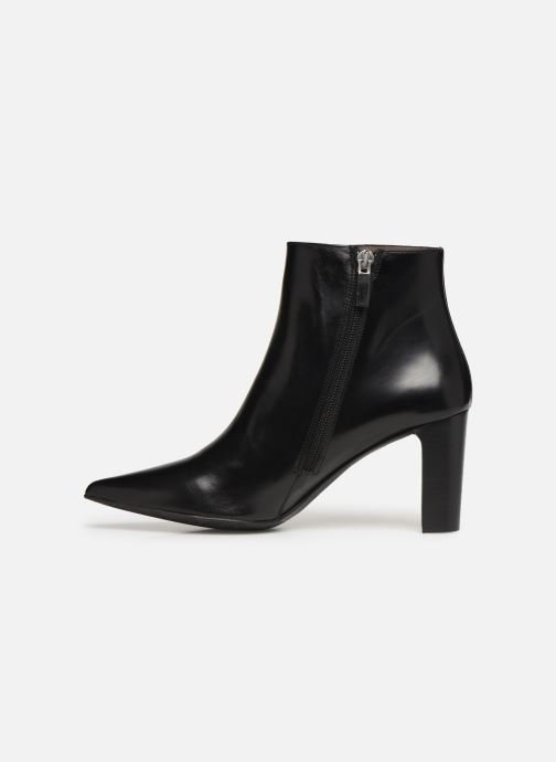 Ankle boots Perlato 11329 Black front view