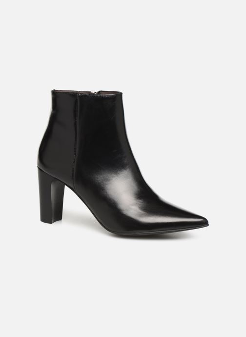 Ankle boots Perlato 11329 Black detailed view/ Pair view