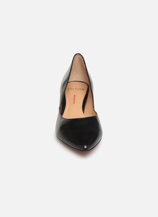 Zapatos de tacón Perlato 10974 Negro vista del modelo